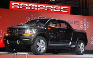 2018 Dodge Rampage Front View