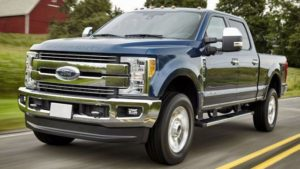 2018 Ford F-250 Front View