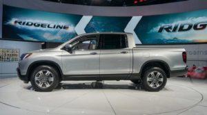 2018 Honda Ridgeline Side View