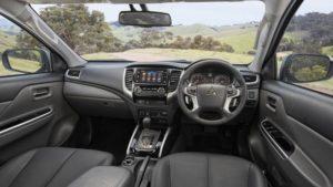 2018 Mitsubishi Triton Interior