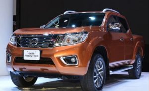 2018 Nissan Frontier Front