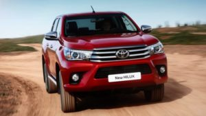 2018 Toyota Hilux Front View