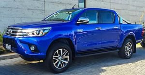 2018 Toyota Hilux Side View