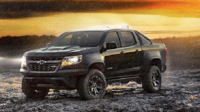 2018 Chevrolet Colorado and 2018 Nissan Frontier ...