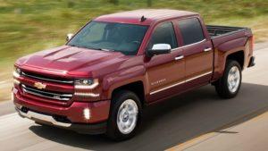 2018 Chevrolet Silverado Side View