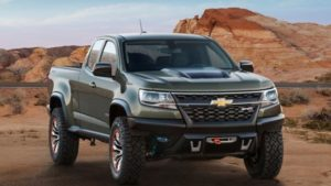 2018 Chevy Colorado Front View