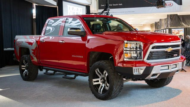 2018 Chevy Reaper Side View 2019 2020 Pickup Trucks