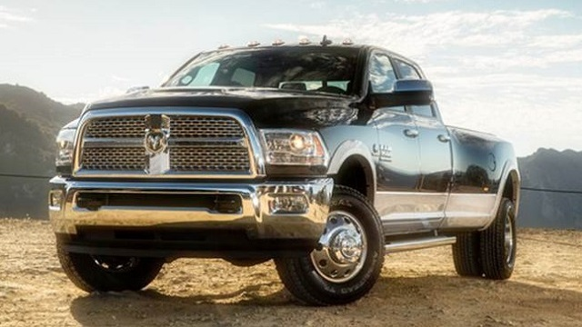 2018 Dodge RAM 3500 Front View