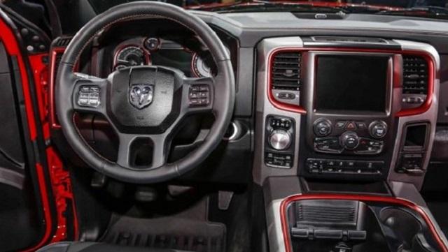 2018 Dodge RAM Rebel Interior
