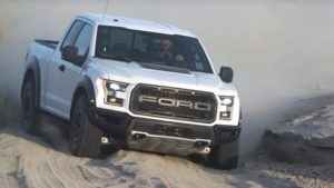2018 Ford F-150 Raptor Front View