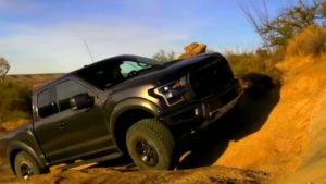 2018 Ford F-150 Raptor Side View