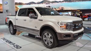 2018 Ford F-150 Side View