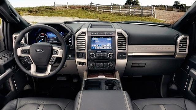 2018 Ford F-450 Interior