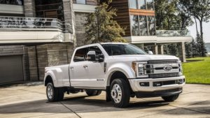 2018 Ford F-450 Side View