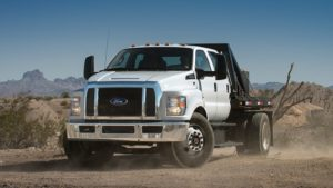 2018 Ford F-650-F-750 Front View