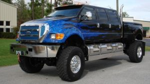 2018 Ford F-650-F-750 Side View