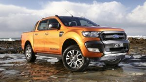 2018 Ford Ranger Front View