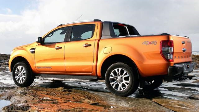 2018 Ford Ranger Side View