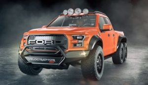 2018 Ford VelociRaptor Front View