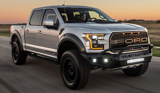 2018 Ford VelociRaptor Side View