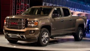 2018 GMC Canyon Front View