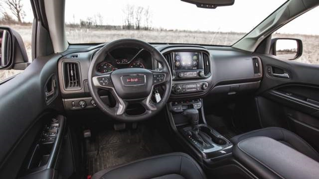 2018 GMC Canyon Interior
