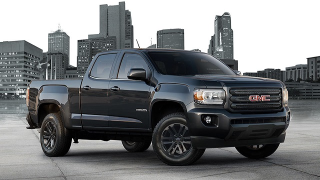 2018 GMC Canyon Side View