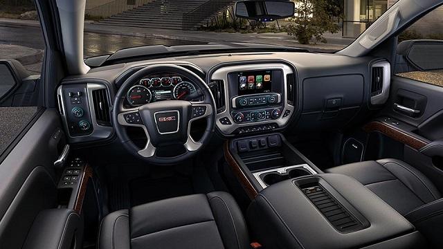 2018 GMC Sierra 1500 Interior