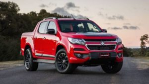 2018 Holden Colorado Front View