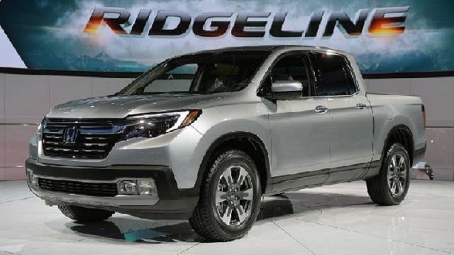 2018 Honda Ridgeline Front View
