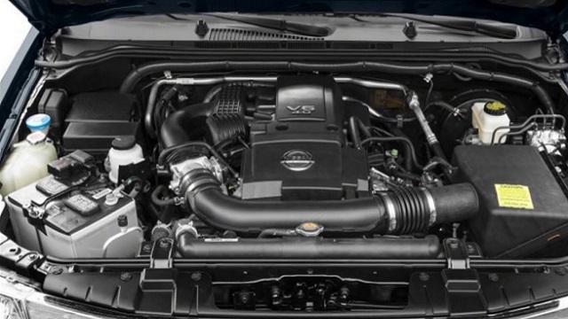 2018 Nissan Frontier Pro-4X Engine