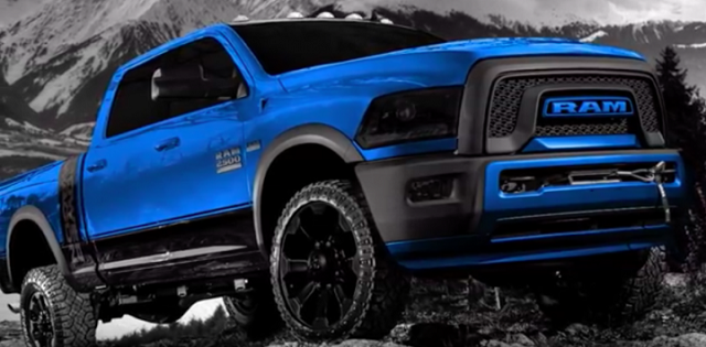 ram  power wagon   pickup trucks