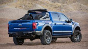 2018 Shelby Raptor Baja Rear View