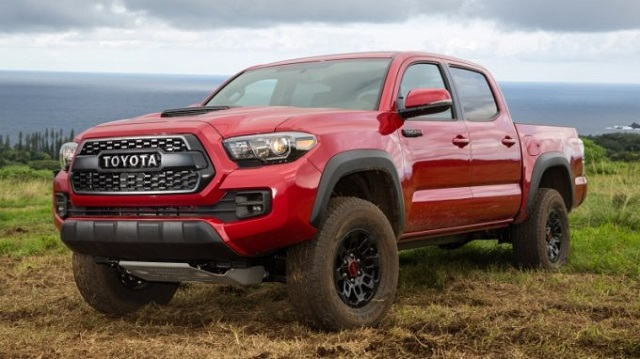 2018 Toyota Tacoma Front View