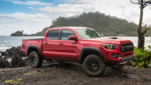 2018 Toyota Tacoma Side View