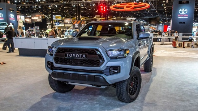 2018 Toyota Tacoma TRD Front View