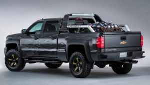 2019 Chevy Silverado Rear View Concept