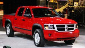 2019 Dodge Dakota Front View