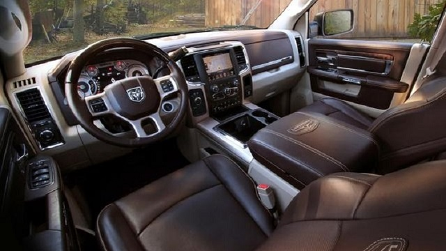 2019 Dodge RAM 3500 Interior