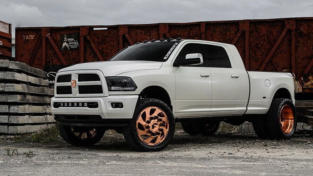 2019 Dodge RAM 3500 Side View