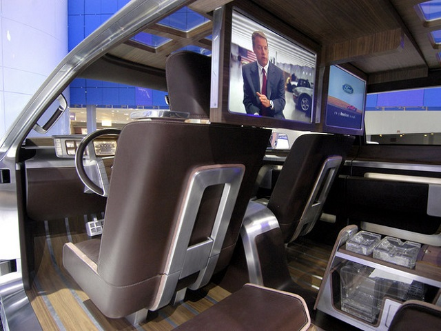 2019 Ford Super Chief Interior