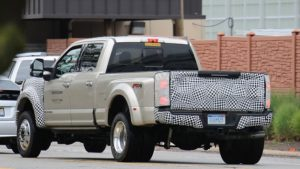 2019 Ford Super Duty Rear View