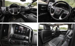 2019 GMC Sierra 1500 Interior