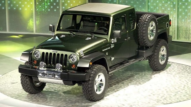 2019 Jeep Pickup Gladiator Concept