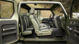 2019 Jeep Scrambler Interior
