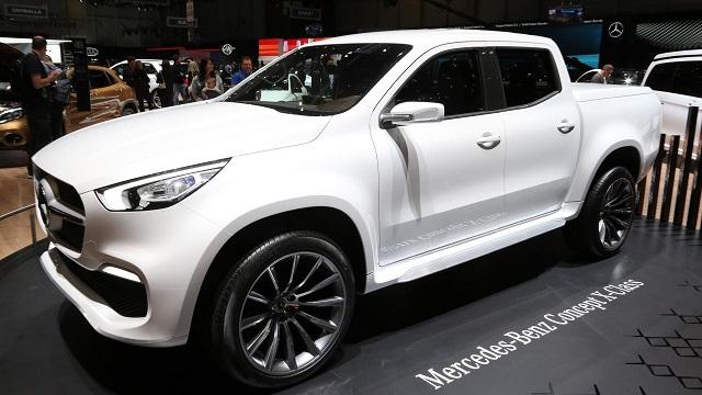 2019 Mercedes X-Class Concept