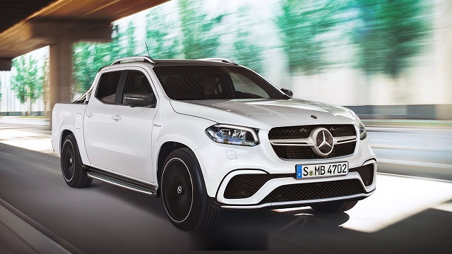 2019 Mercedes X-Class Front View