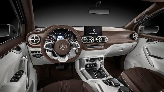 2019 Mercedes X-Class Interior