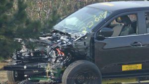 2019 Nissan Frontier Crash Test