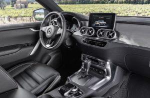 Mercedes Pickup Truck Interior